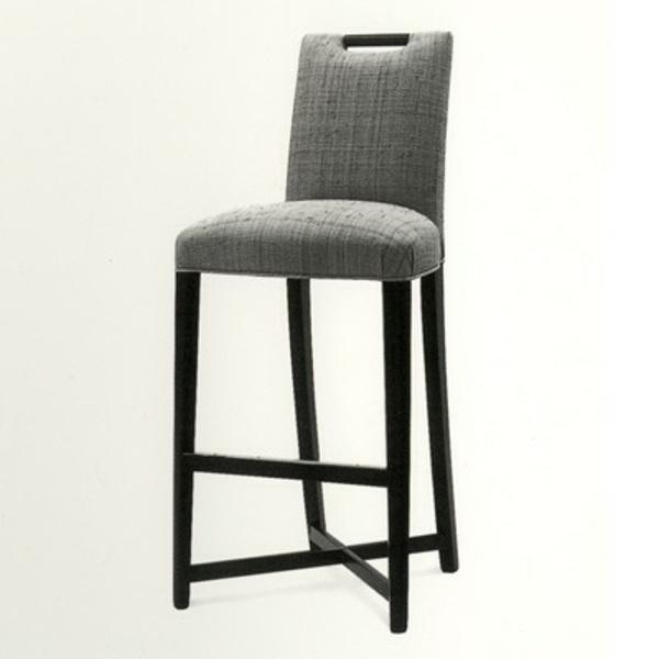 Chaise De Bar Grise Chaise De Bar Style Eames Lot De 4
