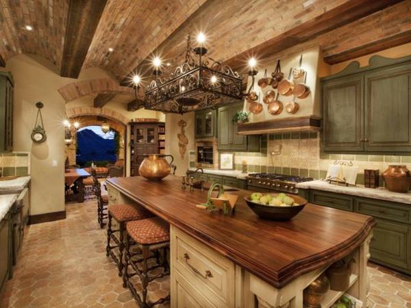 Les plus belles cuisines rustiques en images  Archzinefr