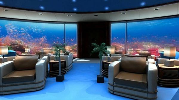 Le design dune chambre dhtel de luxe sousmarine  incroyable et fascinant  Archzinefr