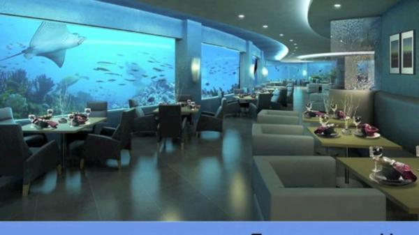 Le Design Dune Chambre Dhtel De Luxe Sous Marine