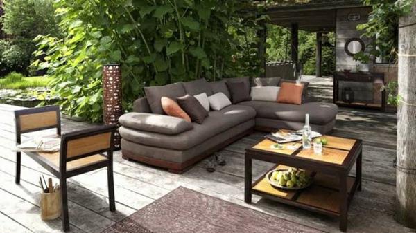 Un salon de jardin contemporain  50 ides fascinantes pour son amnagement et dcoration