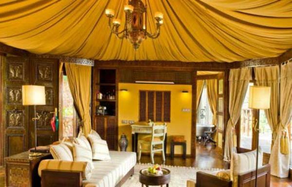 La dcoration salon marocain  la symbiose entre tradition