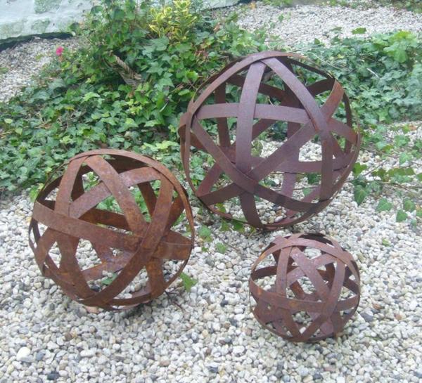 un objet en fer ou metal rouille peut