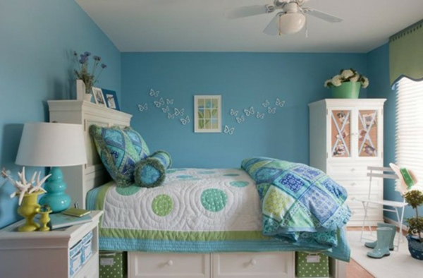 Turquoise Chambre Fille