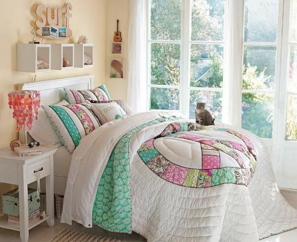 yellow sofa bed ikea antique style set la déco chambre ado fille - esthétique et amusante ...