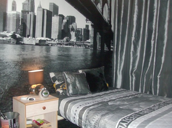 La dco chambre New York ado  crative et amusante