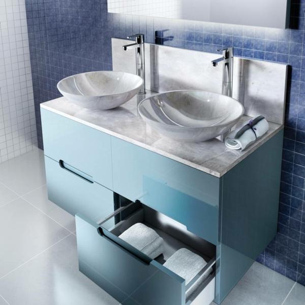 le meuble salle de bain a double vasque