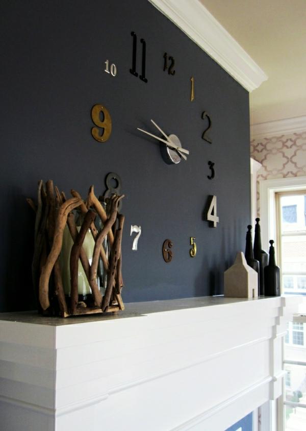 horloge cuisine moderne