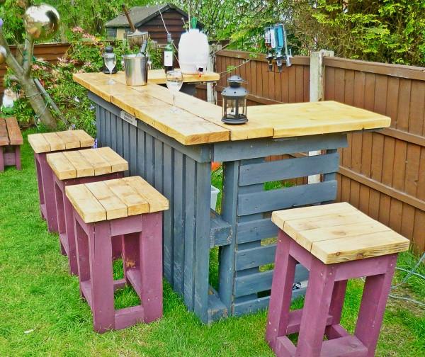 Le salon de jardin en palette  bricolez vos meubles patio incroyables  Archzinefr