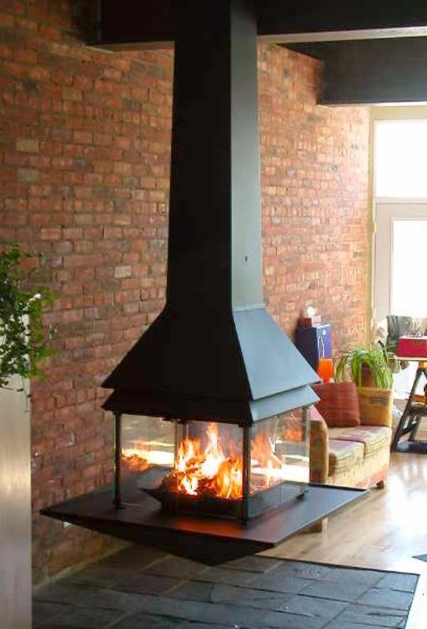 La chemine suspendue  le design spectaculaire du chauffage  Archzinefr