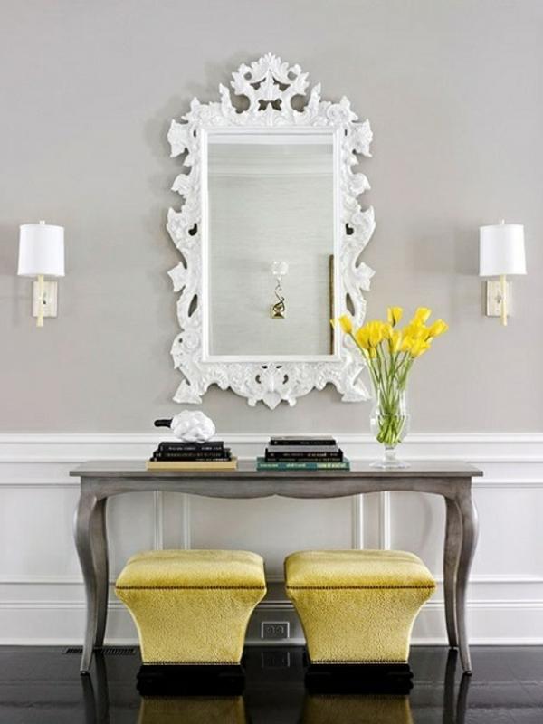 Le meuble console d entre complte le style de votre