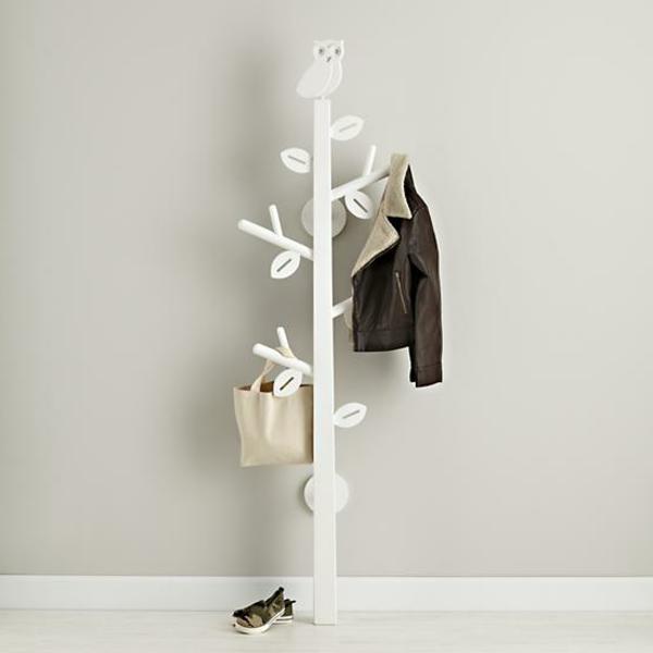 porte manteau arbre ajoute une touche