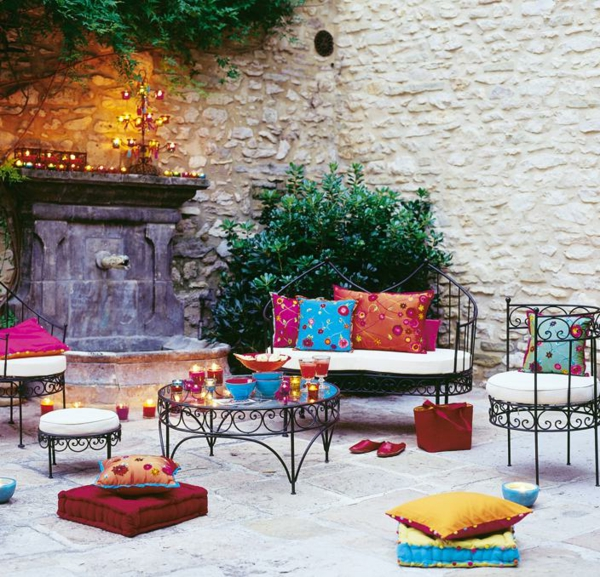 Salon Jardin Style Moderne Marocain - Boisholz