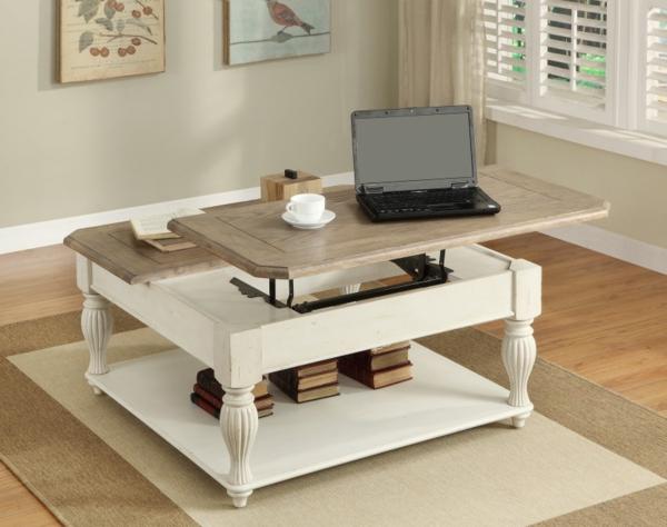 La Table Basse Avec Plateau Relevable Se Soigne De Vos