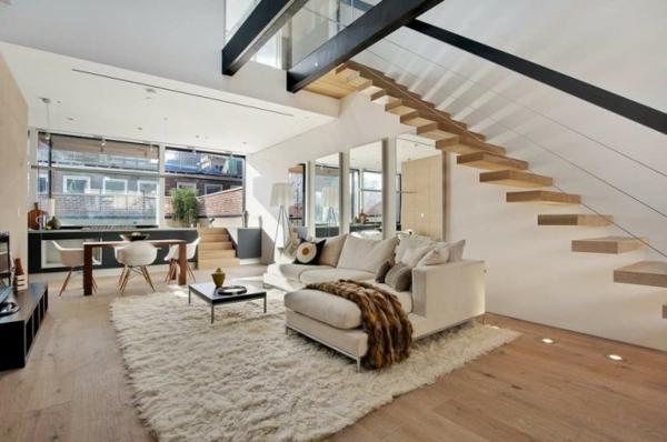 maison contemporaine salon design