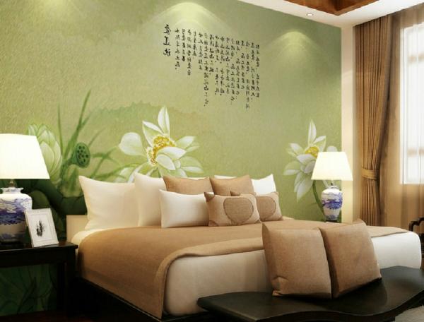 La dcoration asiatique vous aide  plonger dans un prsent magique