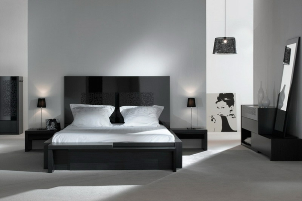 Moderne chambre  coucher complte