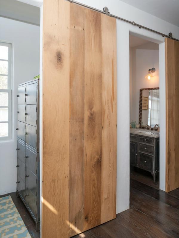 La porte coulissante pour la salle de bain  Archzinefr
