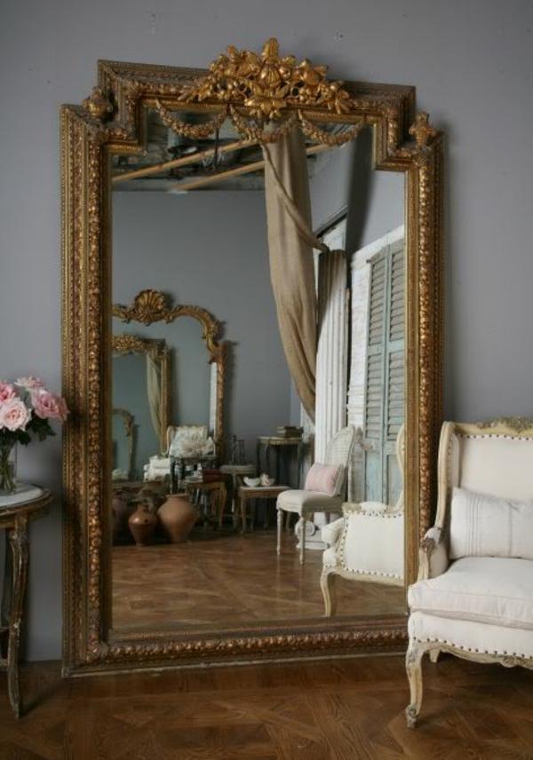 Le miroir baroque est un joli accent dco  Archzinefr