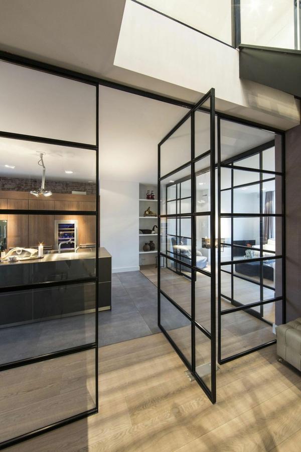 La cloison vitre intrieure pour un espace original  Archzinefr