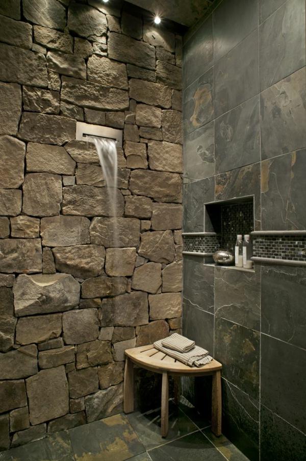 kitchen wall tile designs garbage can voici les plus belles salles de bain en 55 photos!