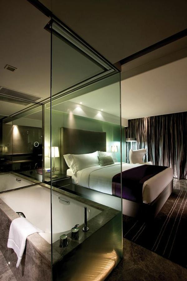 Chambre dhtel avec jaccuzi  intrieurs inspirants et vues splendides  Archzinefr
