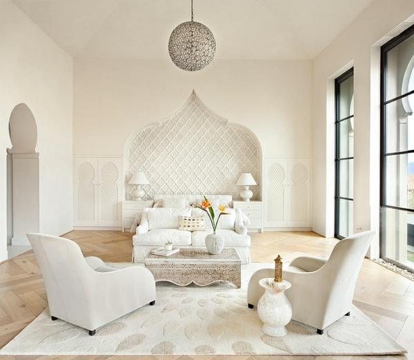Chambre Orientale Blanche - Décoration de maison idées de design d ...