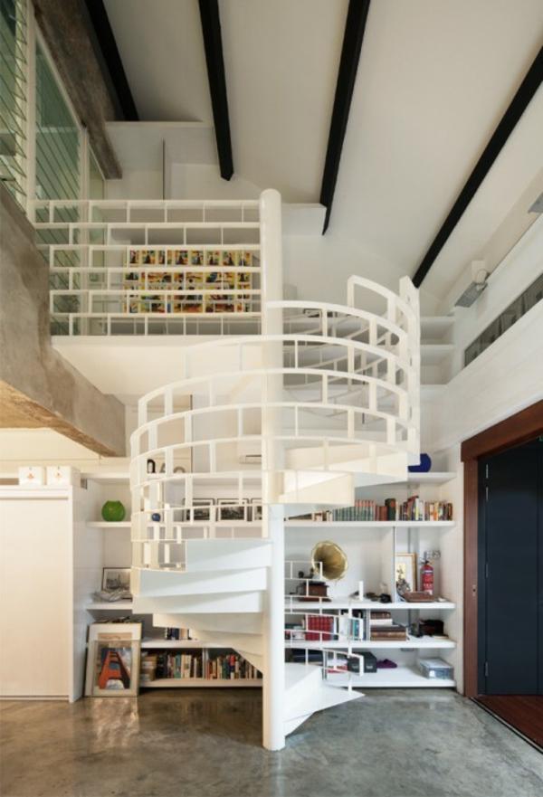 Les escaliers colimaons  modernes ou vintages toujours fonctionnels  Archzinefr