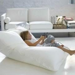 Kids Spa Chair Black Bean Bag Target Le Pouf Géant - Un Coussin De Sol Amusant Et Confortable