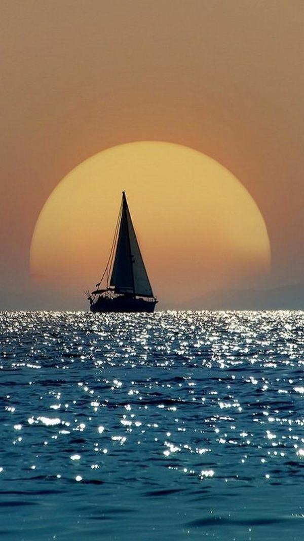 Couche De Soleil Sur La Mer Les Destinations Les Plus