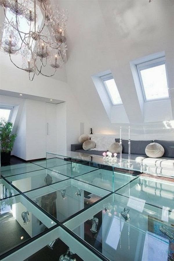 Un plancher de verre  inspirs par la transparence  Archzinefr