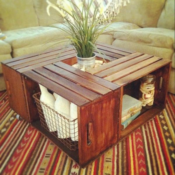 Maison Idees Pour Une Table Basse Avec Palette