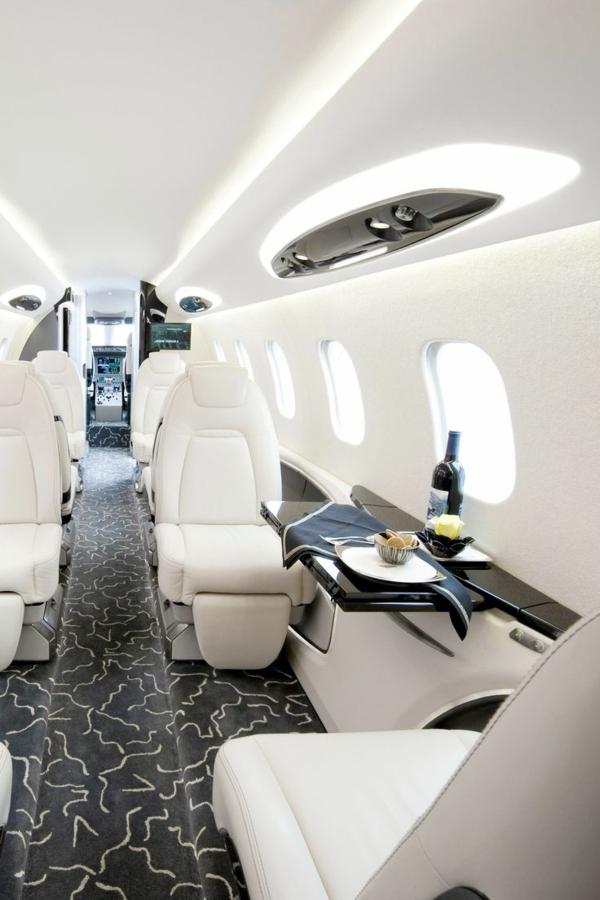 Le jet priv de luxe en 50 photos