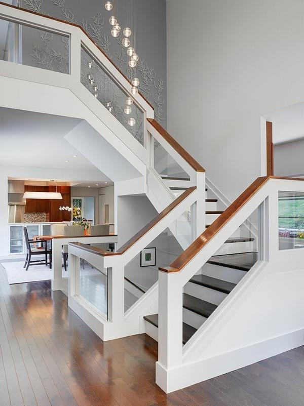 Designs descaliers avec gardecorps en verre  Archzinefr