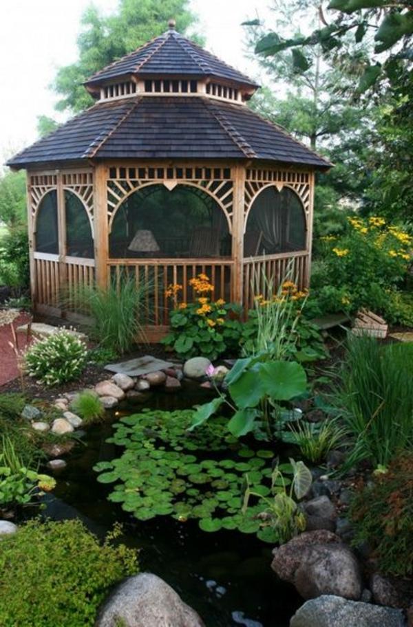 Quel kiosque de jardin pour le cour de vos rves