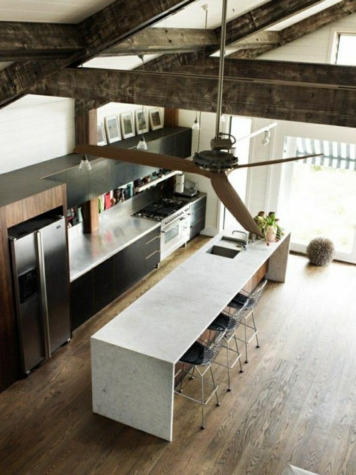 la table haute de cuisine est ce qu