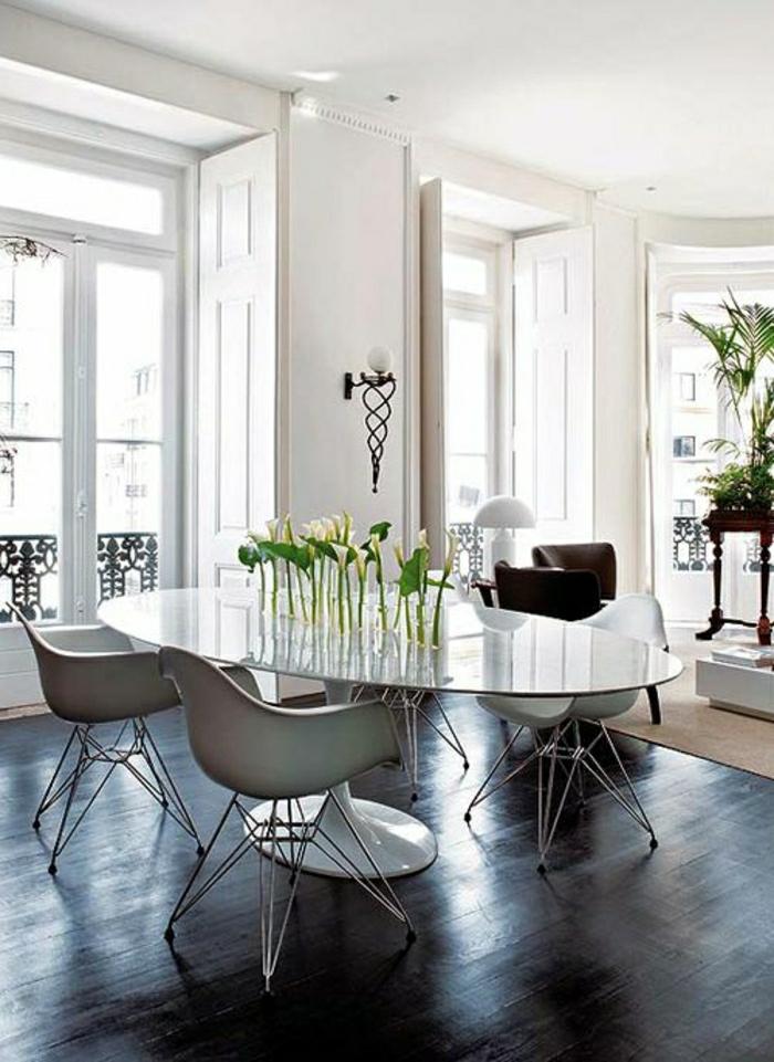 Une table tulipe pour votre intrieur moderne
