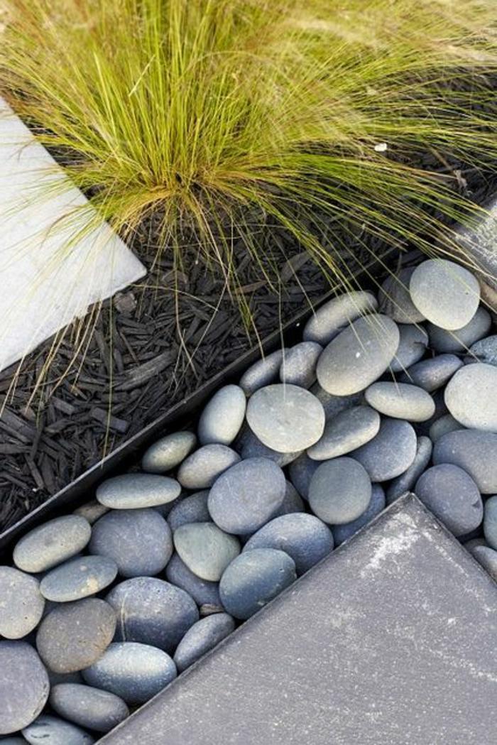 Jardin Moderne Avec Galet
