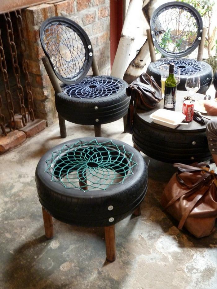 Le Recyclage Pneu Ides Originales
