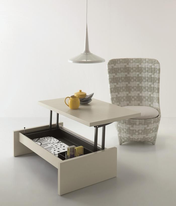 S Meubles La Table Basse Relevable Pour Votre Salon Fonctionnel