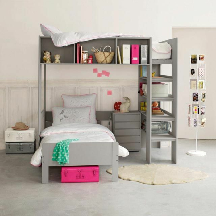 le lit mezzanine ou le lit superspose