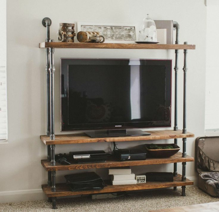 Etagere Style Industriel Pas Cher. Etagere With Etagere Style