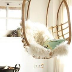 Swingasan Hanging Chair Blue Rocking Notre Inspiration Du Jour Est La Chaise En Osier!