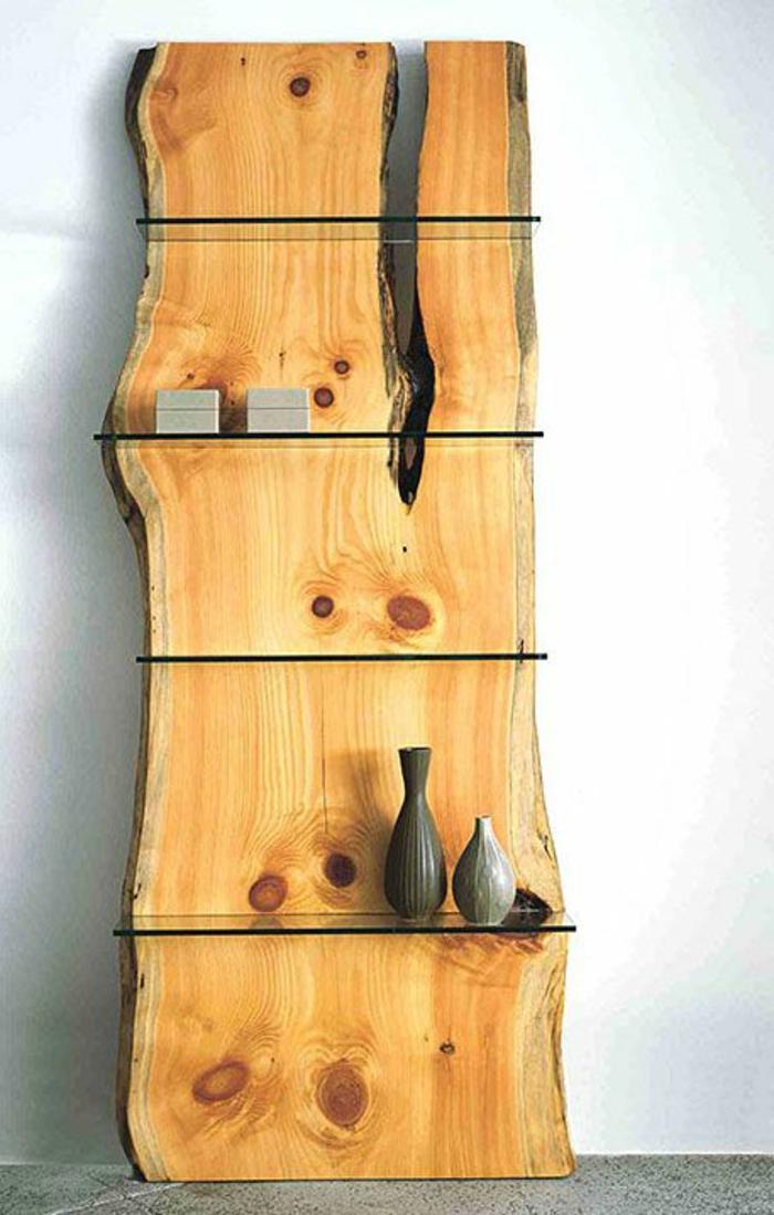 les meubles en bois brut sont une jolie