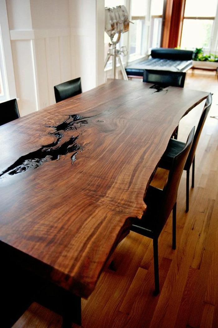 meuble de cuisine avec table escamotable