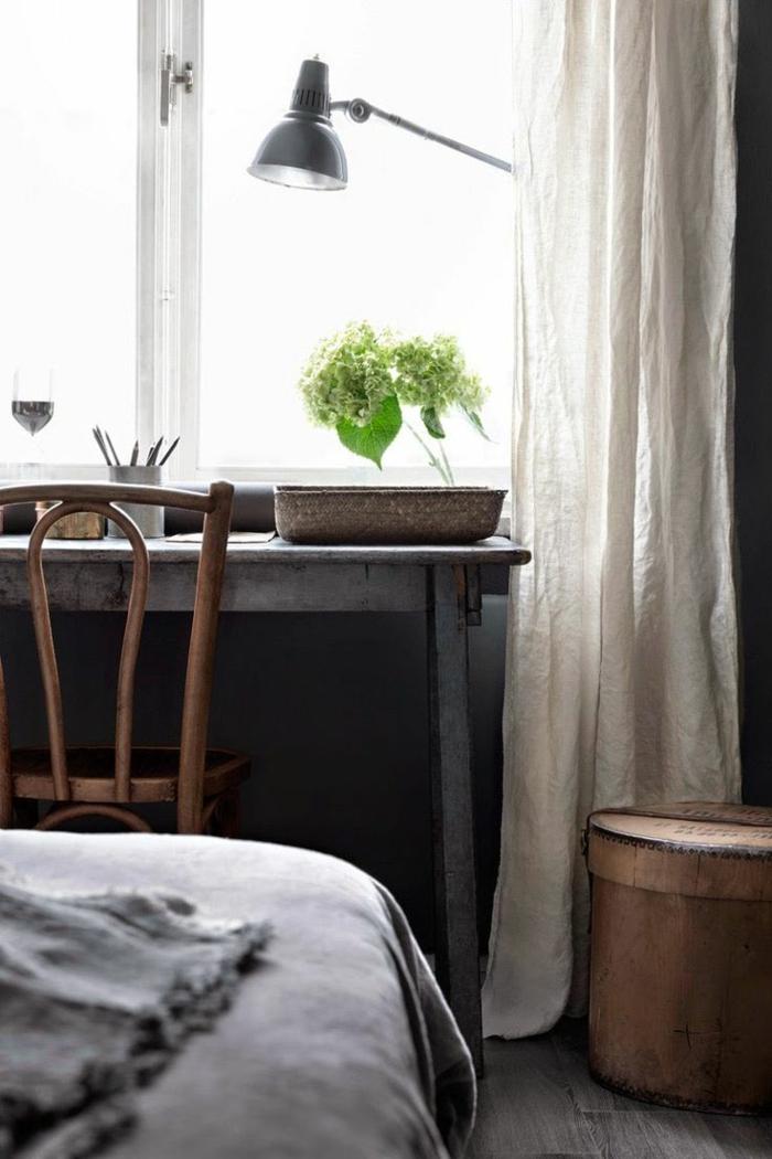 Le rideau en lin  une belle dcoration pour lintrieur  Archzinefr