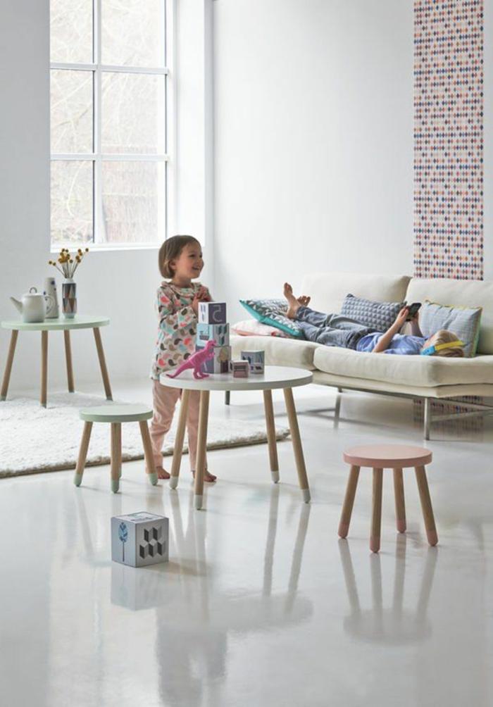 La Table Basse Scandinave Simplicit Et Beau Style
