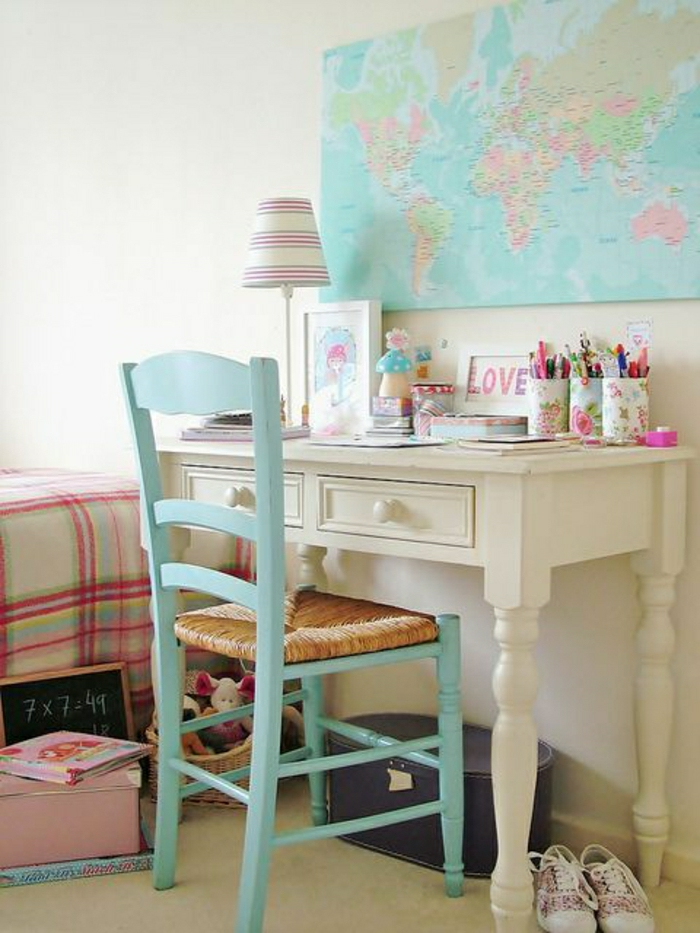 Aqua Desk Chair