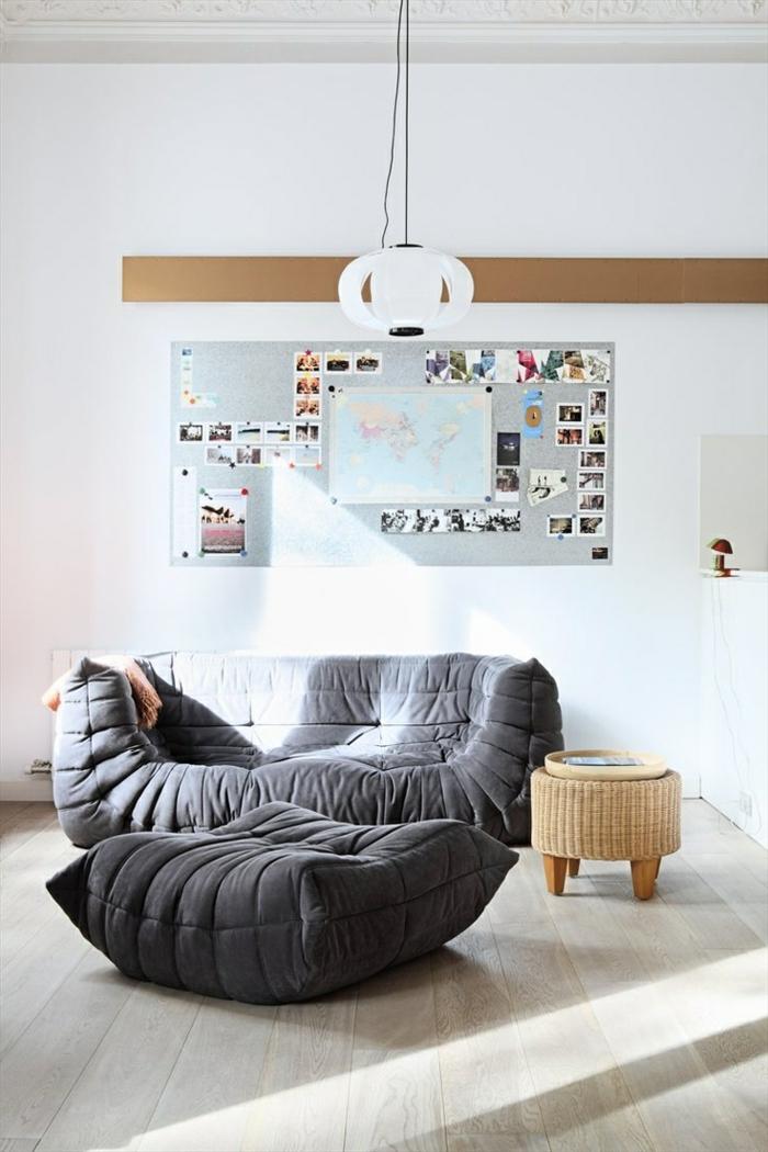 Le canap gonflable qui sont les variantes les plus confortables