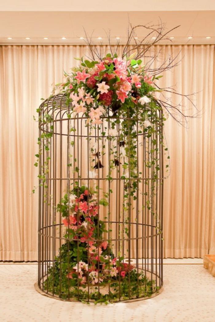 La Cage Oiseaux Dcorative Tendance Shabby Chic